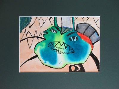Le dessin de Marouane, 10 ans