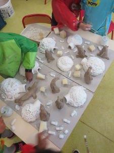 Créer avec les enfants